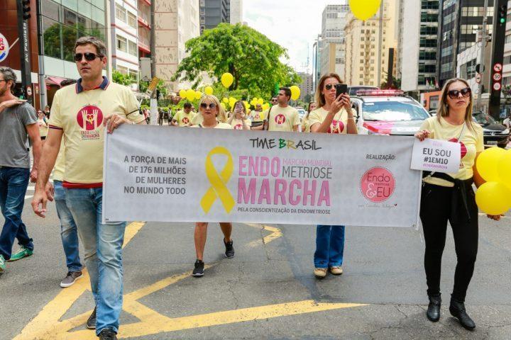 Rio de Janeiro está lista das cidades que vão participar da Marcha Mundial da Endometriose